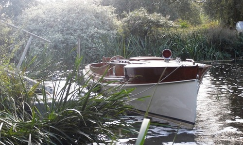Image of 26ft PETTERSSON ELECTRIC LAUNCH for sale in United Kingdom for £45,000 Worcesteshire, United Kingdom