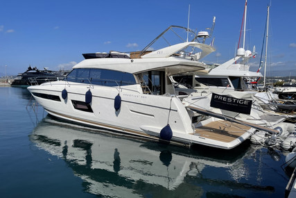 Prestige 560 for sale in France for €850,000 (£727,958)