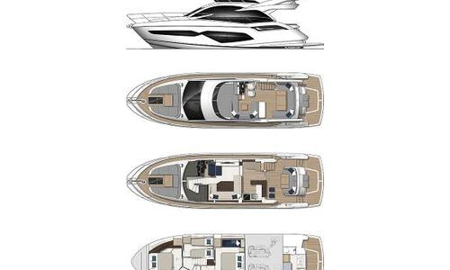Image of Sunseeker Manhattan 55 for sale in France for £1,095,000 France