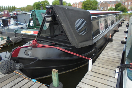 Liverpool 61ft Narrowboat called Black Pearl for sale in United Kingdom for £44,995