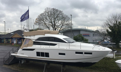 Image of Fairline Squadron 48 for sale in United Kingdom for £595,000 Hamble River Boat Yard, United Kingdom