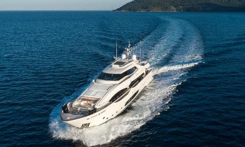 Image of Ferretti Custom Line 124 for sale in Turkey for €9,500,000 (£8,133,771) Marmaris, Turkey
