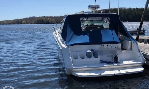 Image of Sea Ray 37 Express Cruiser for sale in United States of America for $89,000 (£64,172) Castine, Maine, United States of America