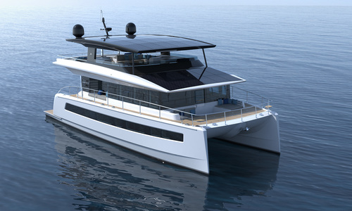 Image of SILENT YACHTS 62 3-Deck for sale in United Kingdom for €2,451,730 (£2,092,259) London, United Kingdom