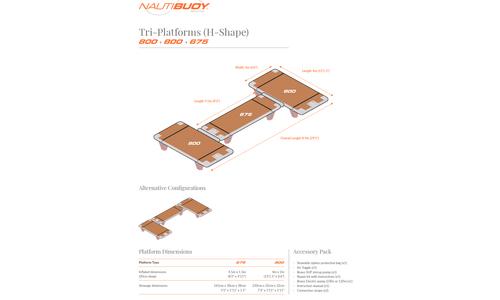 Image of NautiBuoy C-Dock for sale in United Kingdom for €2,995 (£2,565) London, United Kingdom