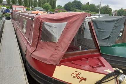 South West Durham Steel Craft 54ft Cruiser Stern Narrowboat called Sage for sale in United Kingdom for £46,995