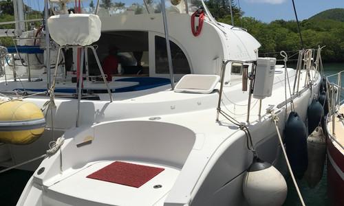 Image of Lagoon 380 for sale in Martinique for €179,900 (£154,103) Le Marin, Martinique