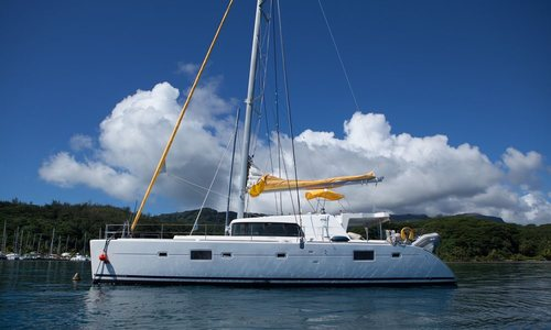 Image of Lagoon 500 for sale in French Polynesia for €380,000 (£320,372) French Polynesia