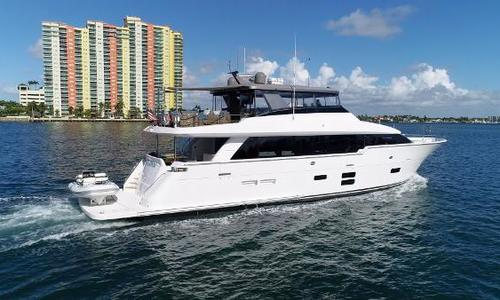 Image of Hatteras M90 Panacera for sale in United States of America for $8,499,000 (£6,210,449) Fort Lauderdale, FL, United States of America