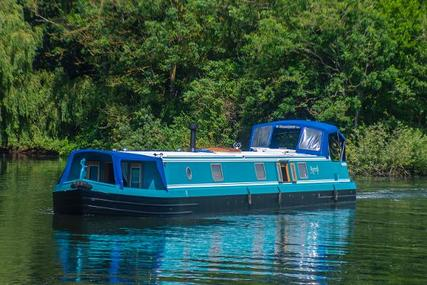 Wide Beam Narrowboat Viking Canal Boats 70 x 12 for sale in United Kingdom for £157,500