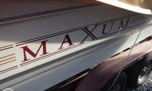 Image of Maxum 2400 SCR for sale in United States of America for $13,500 (£9,848) Bay Minette, Alabama, United States of America