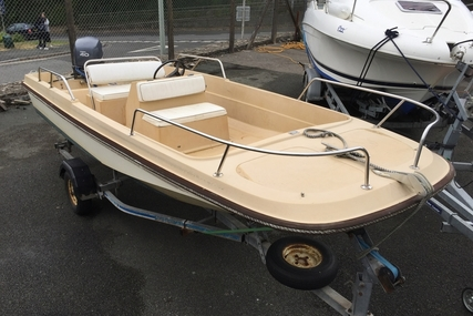seaskate 16 Dory with trailer - NO Engine (not dell quay orkney plancraft fox) for sale in United Kingdom for £1,495