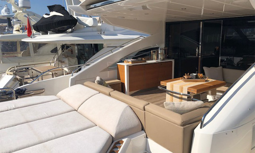 Image of Princess V72 for sale in Turkey for €1,550,000 (£1,318,644) Turkey