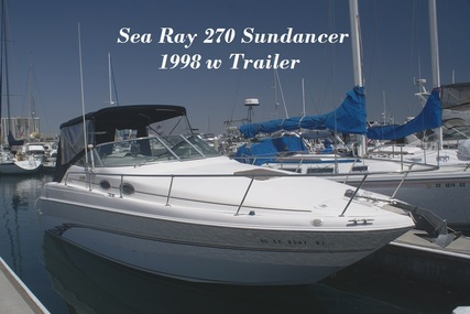 Sea Ray 270 Sundancer for sale in United States of America for $39,900 (£29,196)