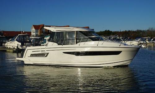 Image of Jeanneau Merry Fisher 895 for sale in United Kingdom for £149,950 Burton Waters, United Kingdom