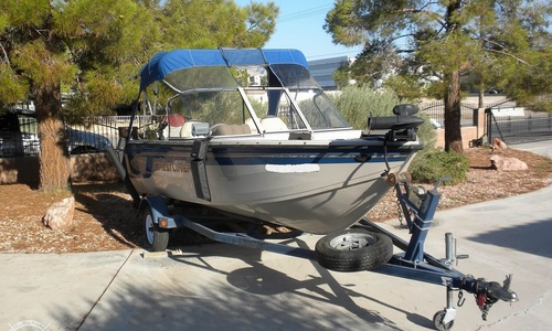Image of Crestliner Superhawk 1600 for sale in United States of America for $11,500 (£8,490) Las Vegas, Nevada, United States of America
