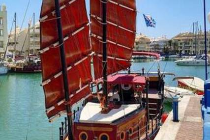 CHINESE JUNCO Junk Motor Sailer 39 ft for sale in Spain for €150,000 (£128,007)