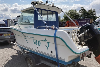 Ocqueteau 540 Pilothouse for sale in United Kingdom for £12,995