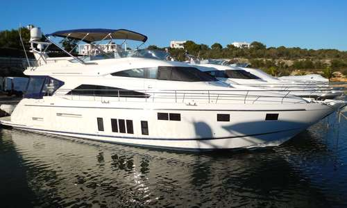 Image of Fairline Squadron 65 4 Cabin Layout Gyro for sale in Croatia for £929,050 Croatia