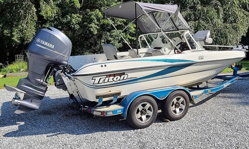 Image of Triton TX 189 DCF Walleye for sale in United States of America for $28,800 (£20,849) Hendersonville, North Carolina, United States of America