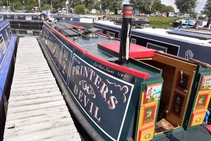 Sagar Marine 40ft Traditional narrowboat called Printer's Devil for sale in United Kingdom for £39,995