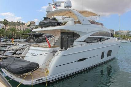 Princess 72 for sale in Spain for £1,495,000