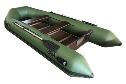Fish 380 3.8M INFLATABLE BOAT WITH FLOORBOARDS & AIR KEEL for sale in United Kingdom for £849