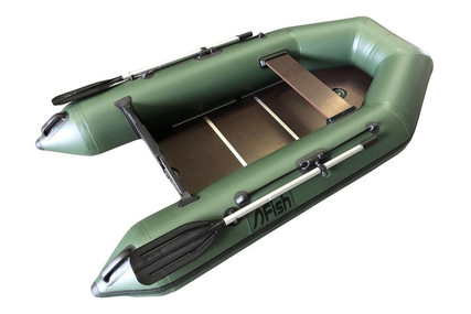 Fish 240 2.4M INFLATABLE BOAT WITH FLOORBOARDS & AIR KEEL for sale in United Kingdom for £425