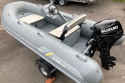 Zar Formenti RIB 11DL 3.3m Floating Console RIB + Suzuki DF20ATS Package for sale in United Kingdom for £8,995