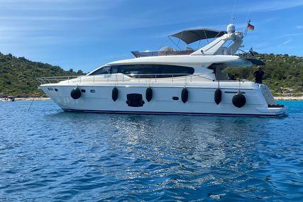Ferretti 630 for sale in Croatia for €780,000 (£656,372)