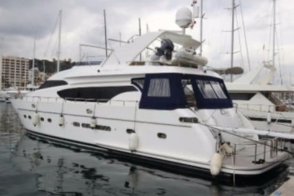 Monte Fino 76 for sale in Spain for €595,000 (£527,707)