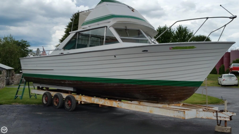 Chris Craft Sea Skiff 32 Sports Cruiser For Sale In United States Of