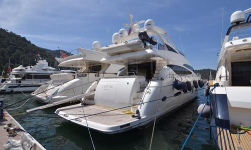 Image of Princess 78 Motor Yacht for sale in Turkey for €1,850,000 (£1,625,688) Fethye, , Turkey