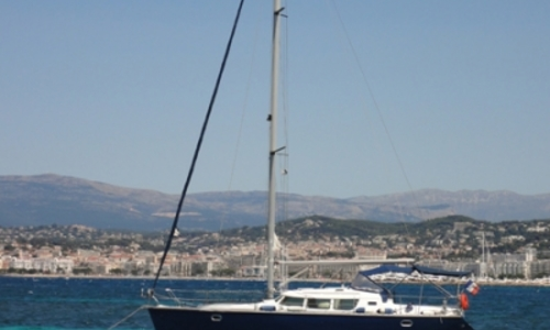 Image of Jeanneau Sun Odyssey 40 DS for sale in France for €88,800 (£79,219) MANDELIEU LA NAPOULE, France