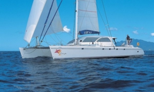 Image of PINTA CATAMARAN ORPHEE 65 for sale in France for €589,000 (£523,672) FRENCH POLYNESIA, France
