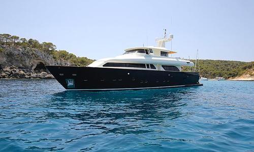 Image of Ferretti Navetta 90 for sale in Spain for €1,700,000 (£1,517,776) Mallorca, Spain