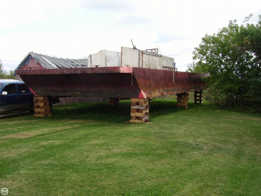 Corten Steel 20 X 52 Barge For Sale In United States Of America