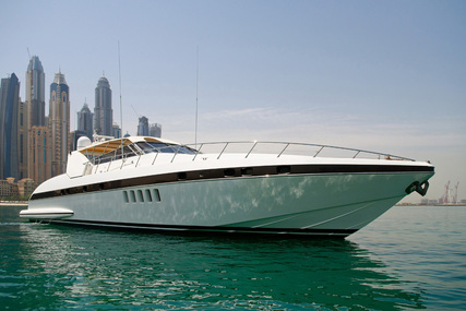 Mangusta 80 Open for sale in United Arab Emirates for $735,000 (£523,199)