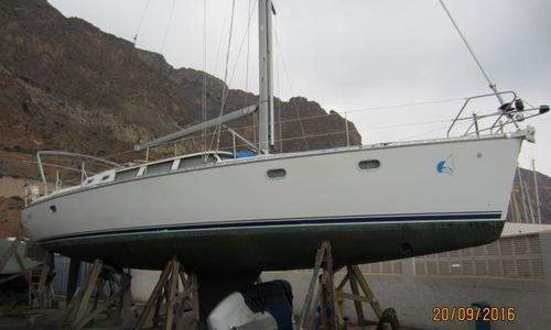 Image of Jeanneau Sun Odyssey 43 DS for sale in Spain for €85,000 (£74,939) Spain
