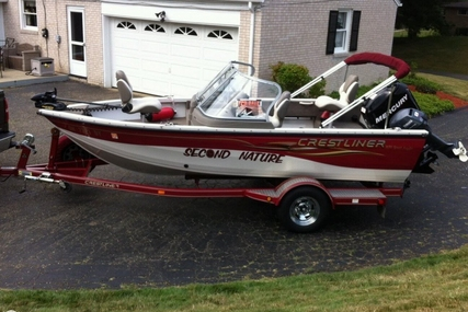 Crestliner 1650 Sport Angler for sale in United States of America for $15,500 (£11,757)