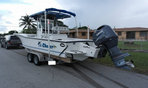 Image of Dusky Marine 256 Fisherman's Cuddy Center Console for sale in United States of America for 20.500 $ (14.504 £) Miami, Florida, United States of America