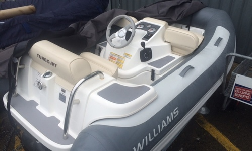 Image of Williams Turbojet 285 for sale in United Kingdom for £16,950 Boats.co. HQ, Essex Marina, United Kingdom