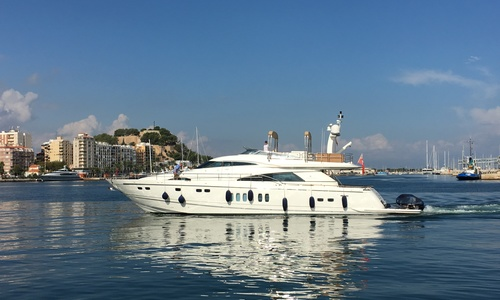 Image of Fairline Squadron 78 for sale in Spain for £1,095,000 Denia, Spain