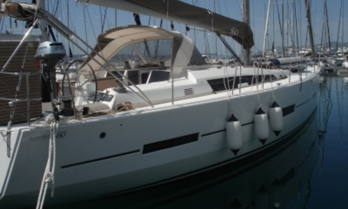 Image of Dufour 560 GRAND LARGE for sale in Croatia for €295,000 (£262,961) SPLIT, Croatia