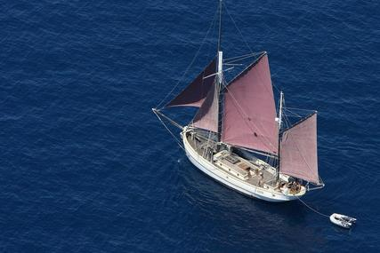 danish gaff ketch for sale in Croatia for €120,000 (£107,014)