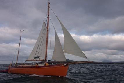 Traditional Colin Archer type gaff ketch for sale in Ireland for £95,000