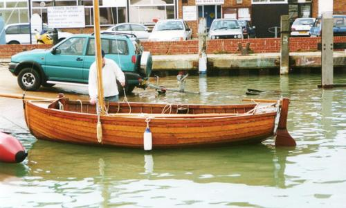 Image of Traditional Gunter rig dinghy for sale in United Kingdom for £4,500 Hampshire, , United Kingdom