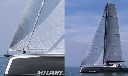 Image of Outremer 5X Carbon for sale in France for $2,390,000 (£1,710,846) Brittany, France