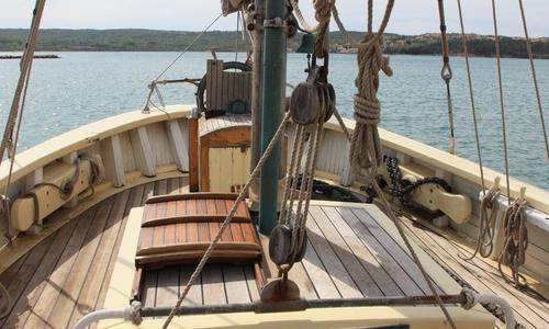 Image of danish gaff ketch for sale in Croatia for €120,000 (£107,770) Croatia