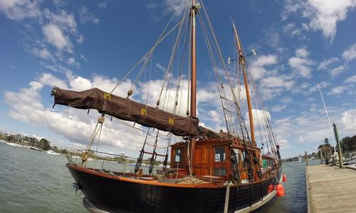 Image of danish gaff ketch for sale in New Zealand for £300,000 New Zealand